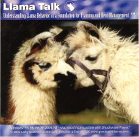 Llama Talk, Understanding Llama Behavior as a Foundation for Training and Herd Management by Cathy Spalding
